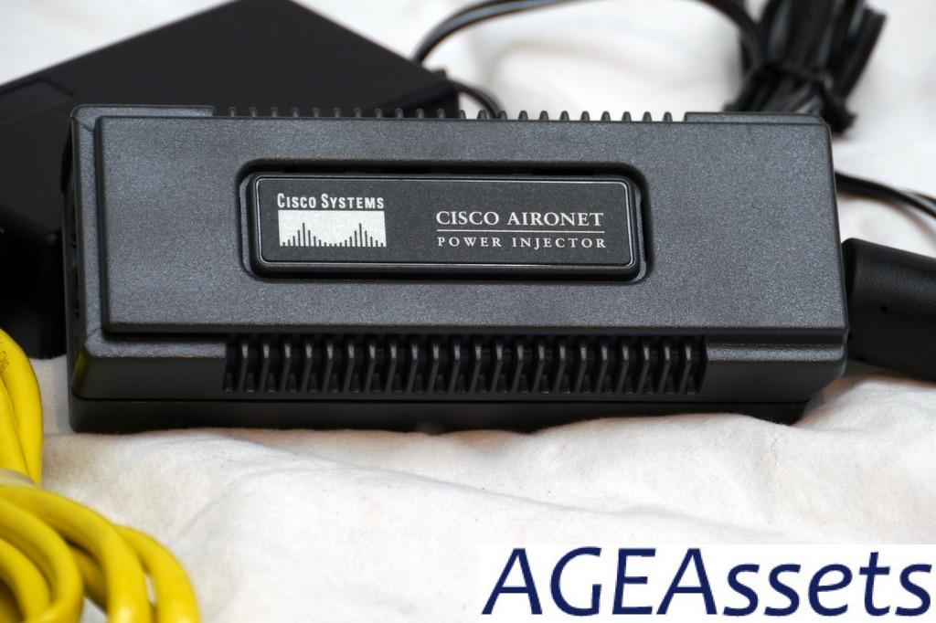 Cisco Aironet 1220B Access Point AIR-AP1220B-A-K9 AIR-PWRINJ3 CUSHCRAFT S2403B=