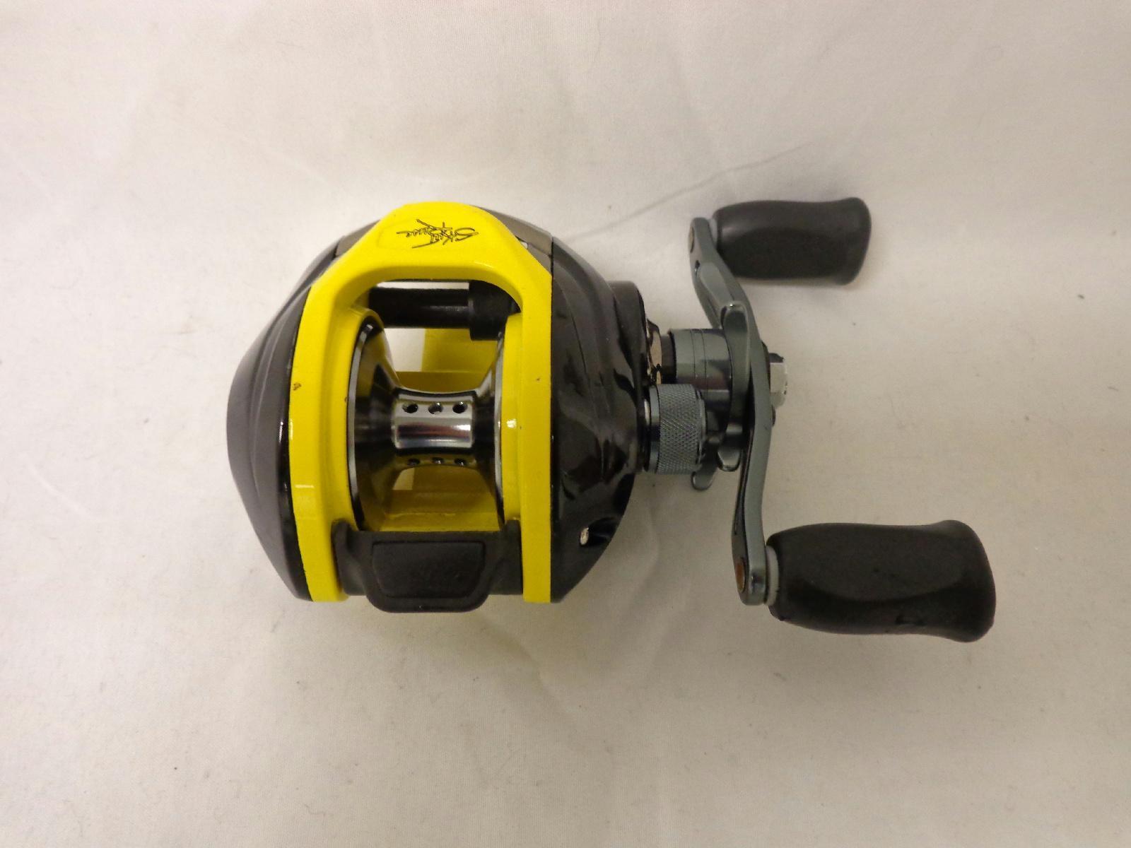 Skeet reese 6 2 1 gear ratio baitcaster fishing reel black for Fishing reels baitcaster