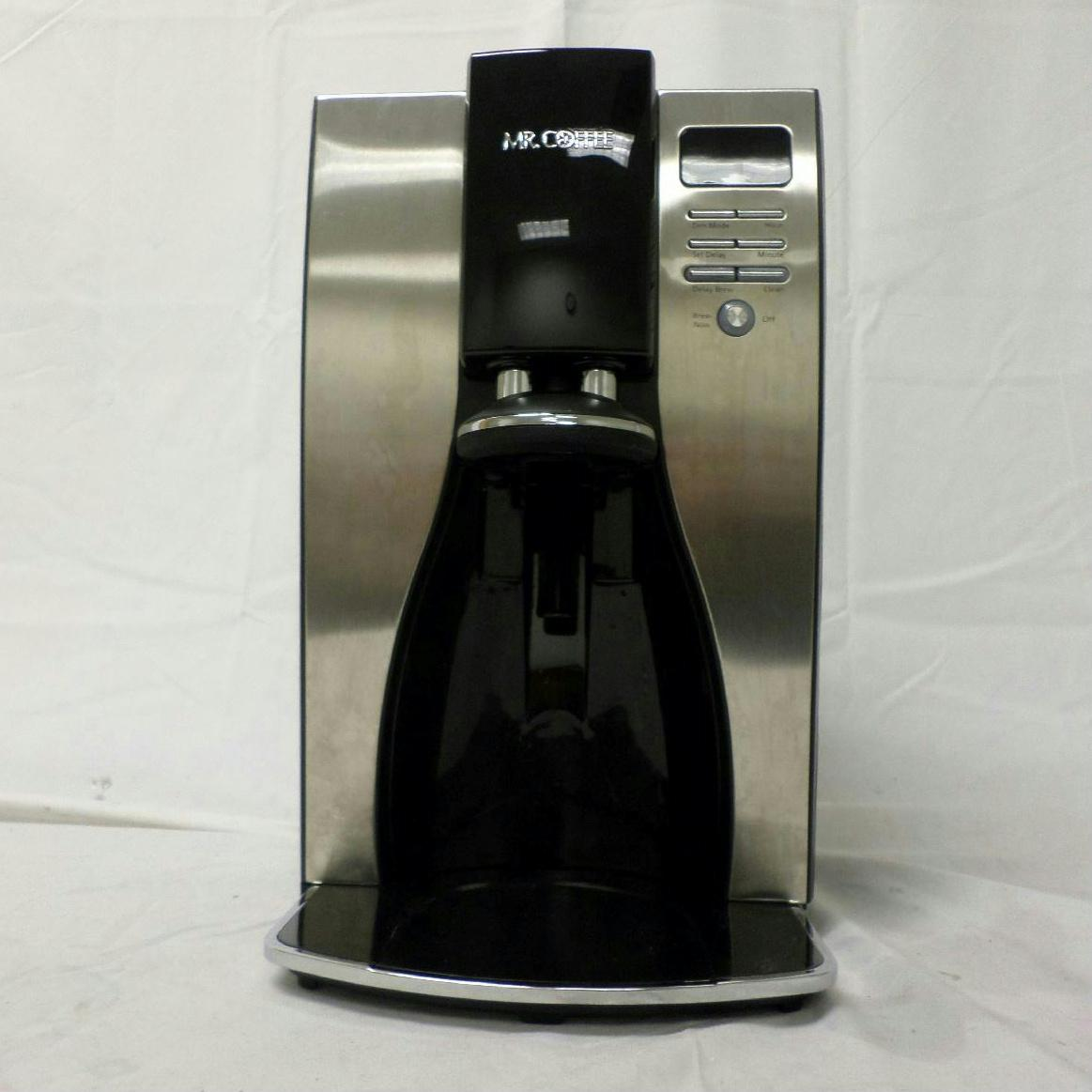 Mr Coffee BVMC PSTX91 Optimal 10 Cup Stainless Steel Thermal Coffee Maker Black eBay