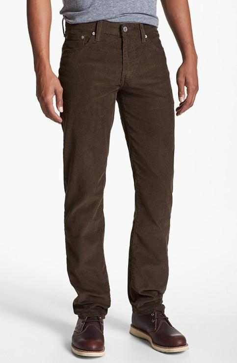 Perry Ellis Men's Portfolio Skinny-Fit Nailshead Dress Pants - Brown 36x Modern sophistication and everyday comfortable style can be enjoyed with the soft feel and contemporary skinny-fit of this solid pair of Portfolio Nailshead Dress Pants by Perry Ellis. more.