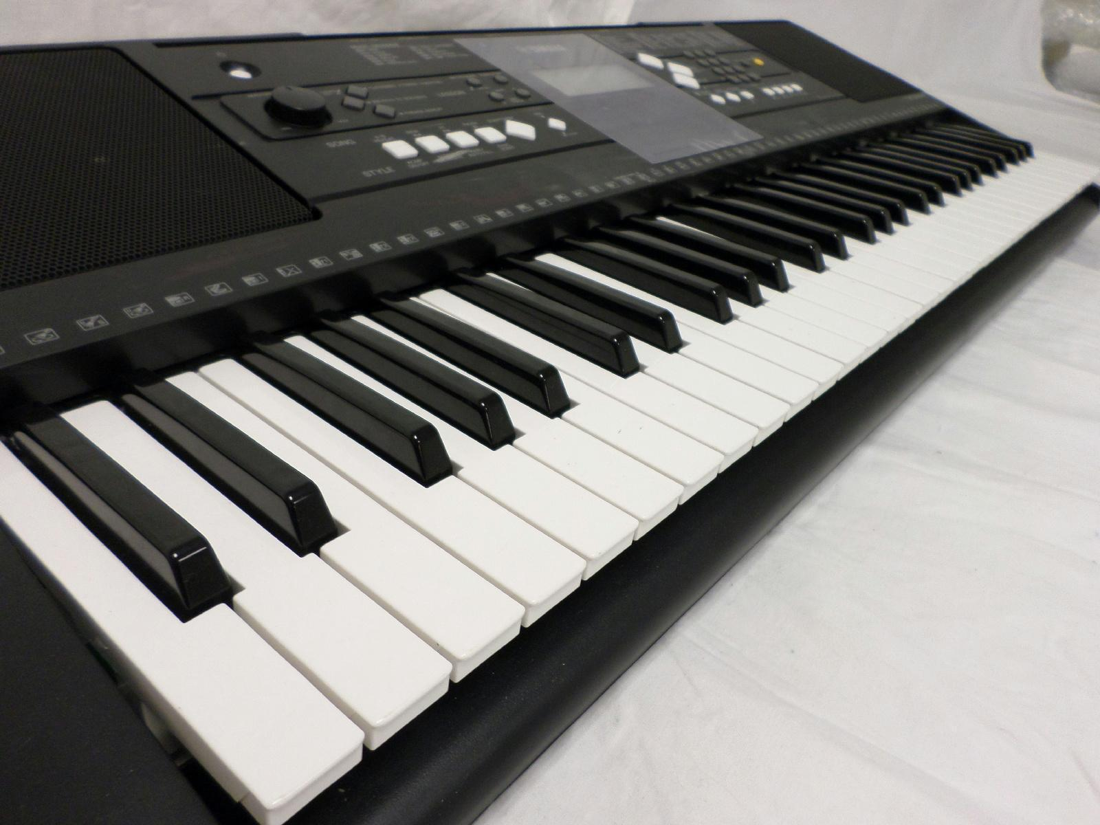 yamaha psr e333 music series 61 key portable instruments. Black Bedroom Furniture Sets. Home Design Ideas