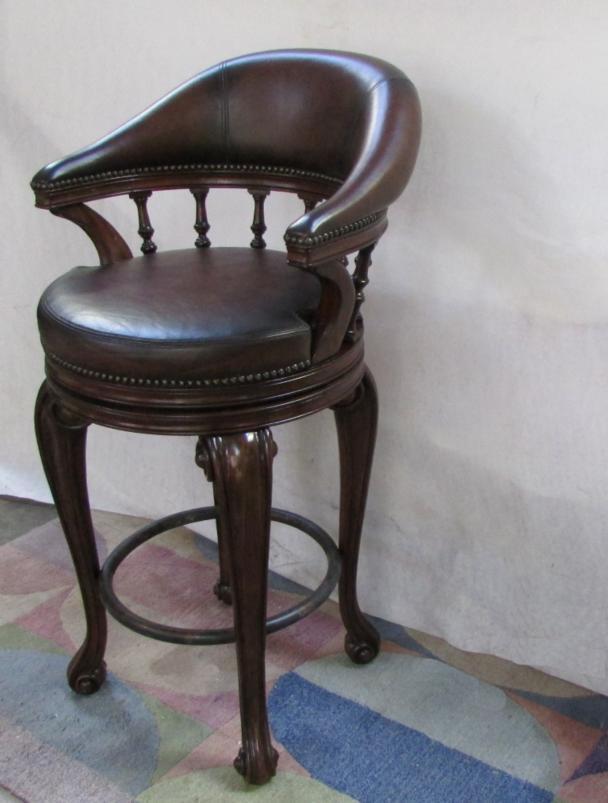 Thomasville Furniture Ernest Hemingway Trophy Leather Bar ...