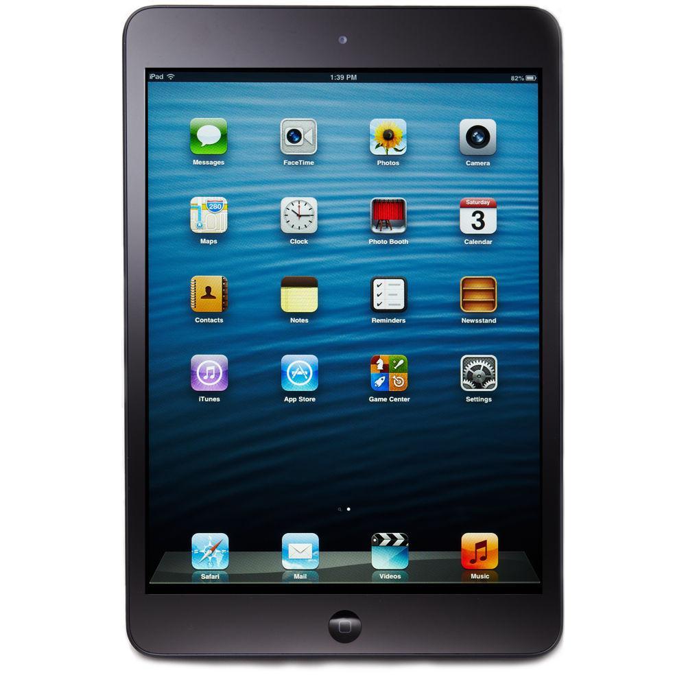apple ipad mini 1st gen 16gb wi fi black. Black Bedroom Furniture Sets. Home Design Ideas
