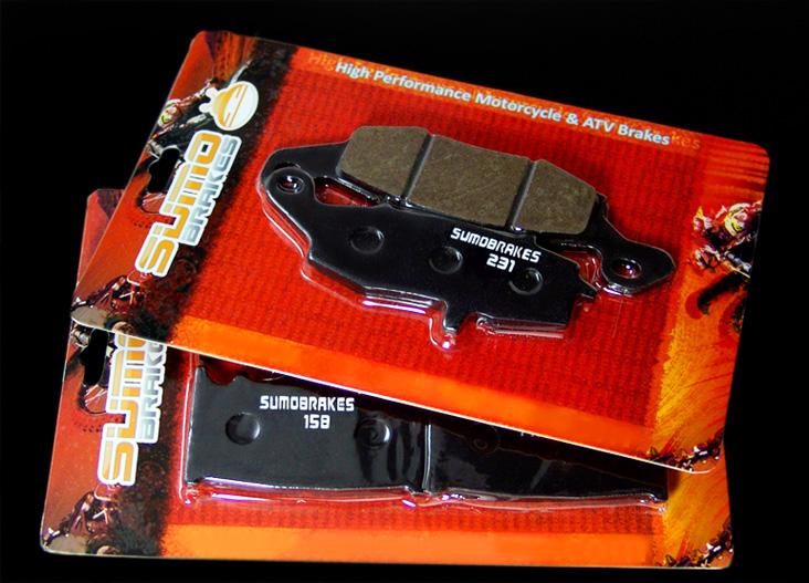Rear Brake Pads VN1700 /& VN2000 Vulcan Voyager Kawasaki Front Check Fitment