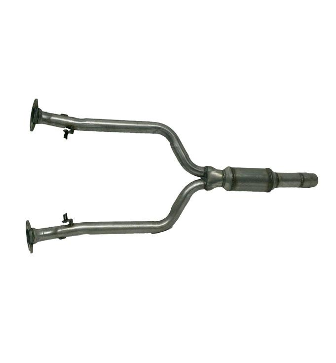 0106 Ls430 Rear Y Pipe With Main Catalytic Converter Davico 18390 W Gasket: Lexus Ls430 Catalytic Converter Replacement At Woreks.co
