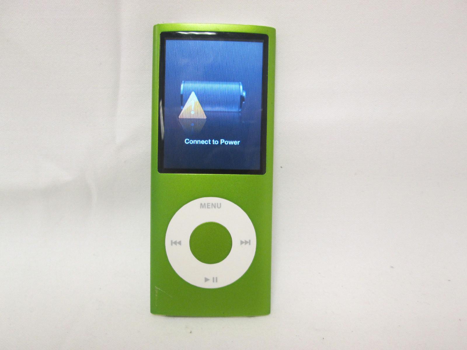 apple ipod nano mp3 player 8 gb green 4th generation. Black Bedroom Furniture Sets. Home Design Ideas