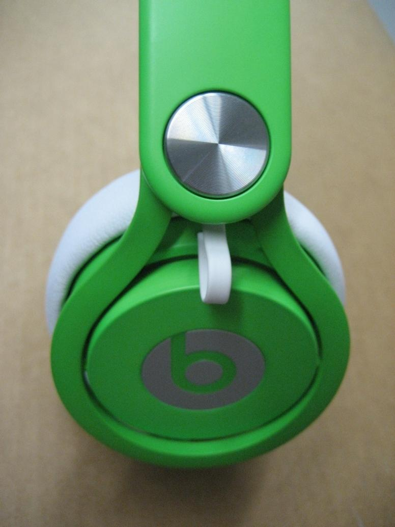 Beats By Dre Mixr Limited Edition Neon Green Headphones ...