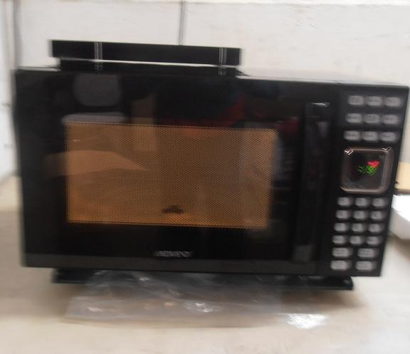 Advent mw912b black built in microwave oven without trim for Microwave ovens built in with trim kit