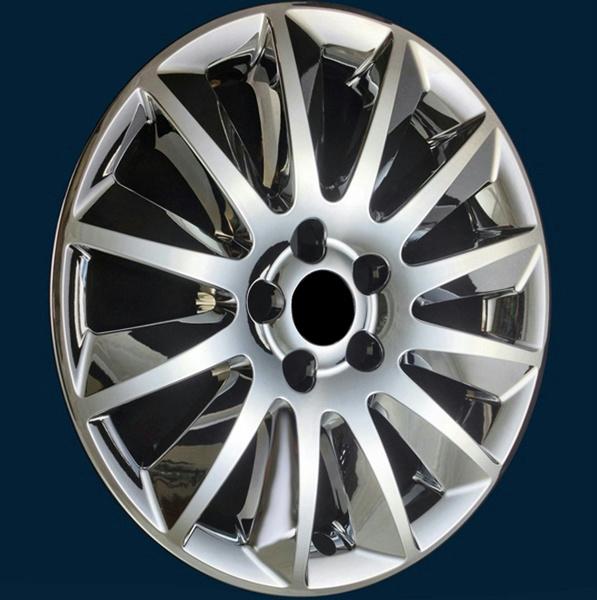 """/'11 12 13 14 Chrysler 300 # 7300PC 17/"""" Chrome Wheel Skins Hub Caps NEW SET 4"""
