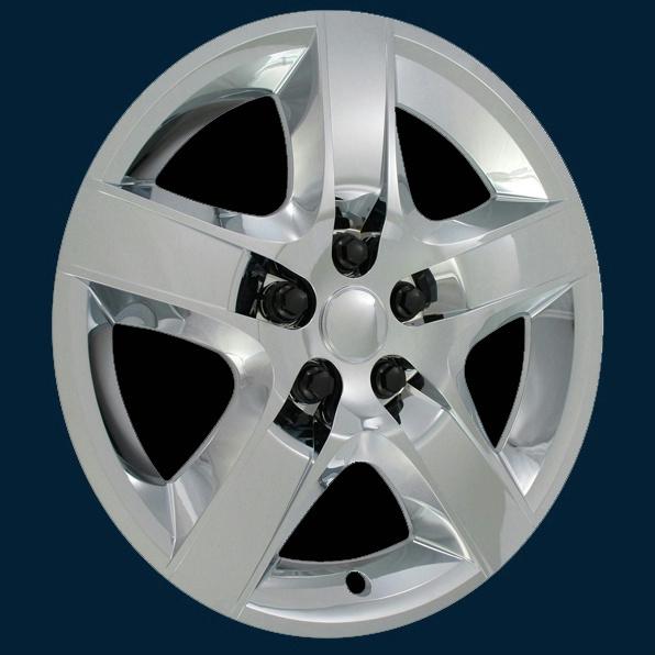 12 Wheel Covers : Chevrolet malibu quot chrome bolt on hubcaps wheel