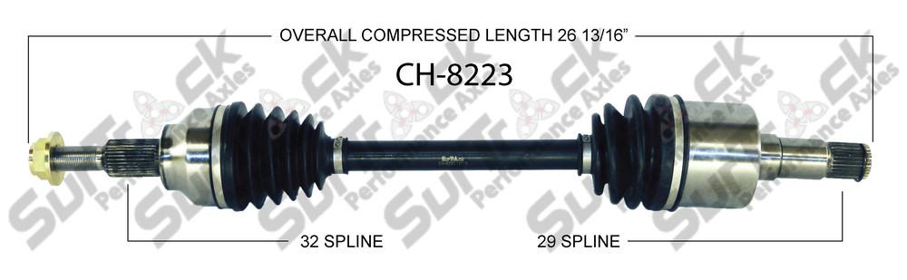 New CV Drive Axle Shaft Front Passanger Fits for Chrysler Pacifica 4.0L 2007-08