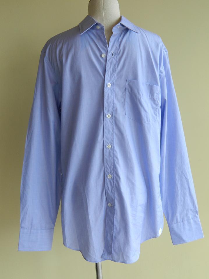 Jcrew thomas mason fabric point collar end on end dress for Thomas mason dress shirts