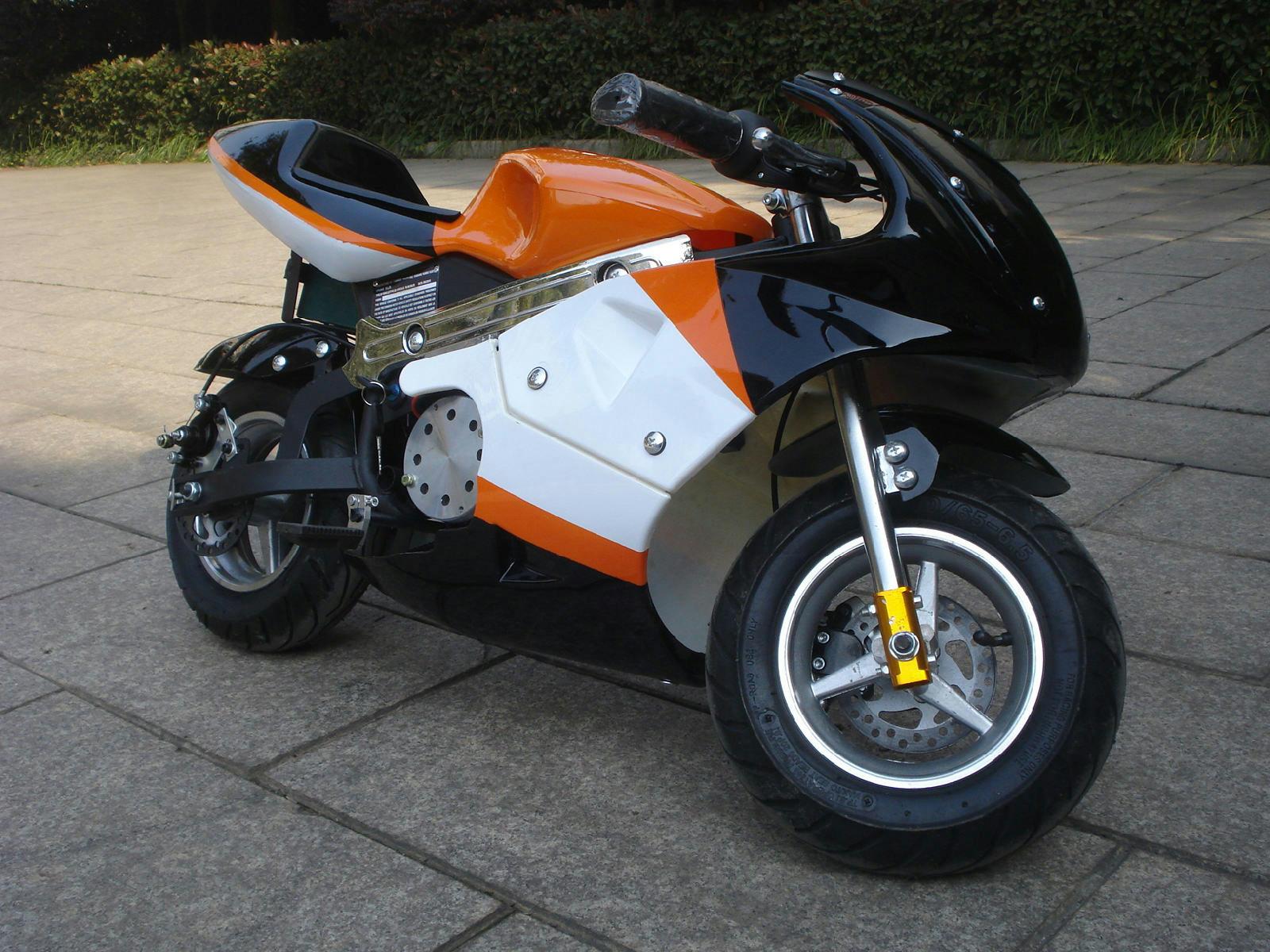mini pocket rocket bike motorcycle electric 1000w ebay. Black Bedroom Furniture Sets. Home Design Ideas