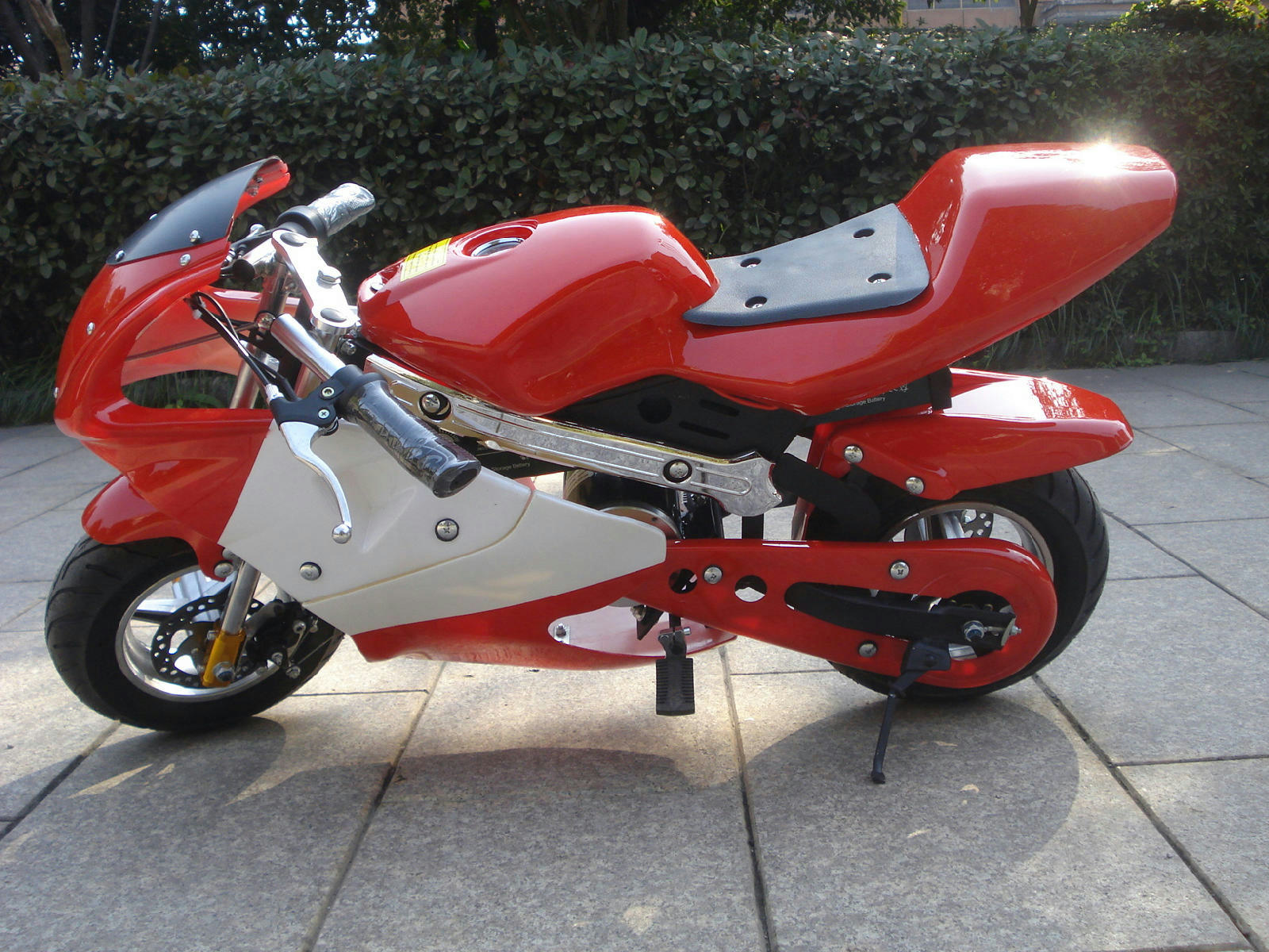 mini pocket rocket bike motorcycle electric 1000w. Black Bedroom Furniture Sets. Home Design Ideas