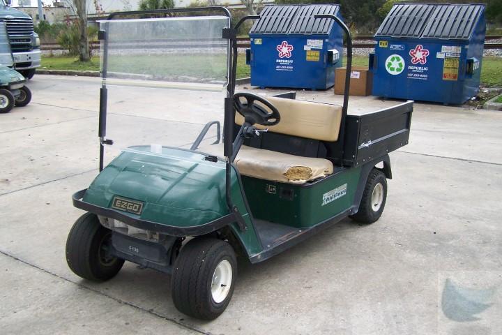 2001 ez go textron workhorse 1000e electric utility golf. Black Bedroom Furniture Sets. Home Design Ideas
