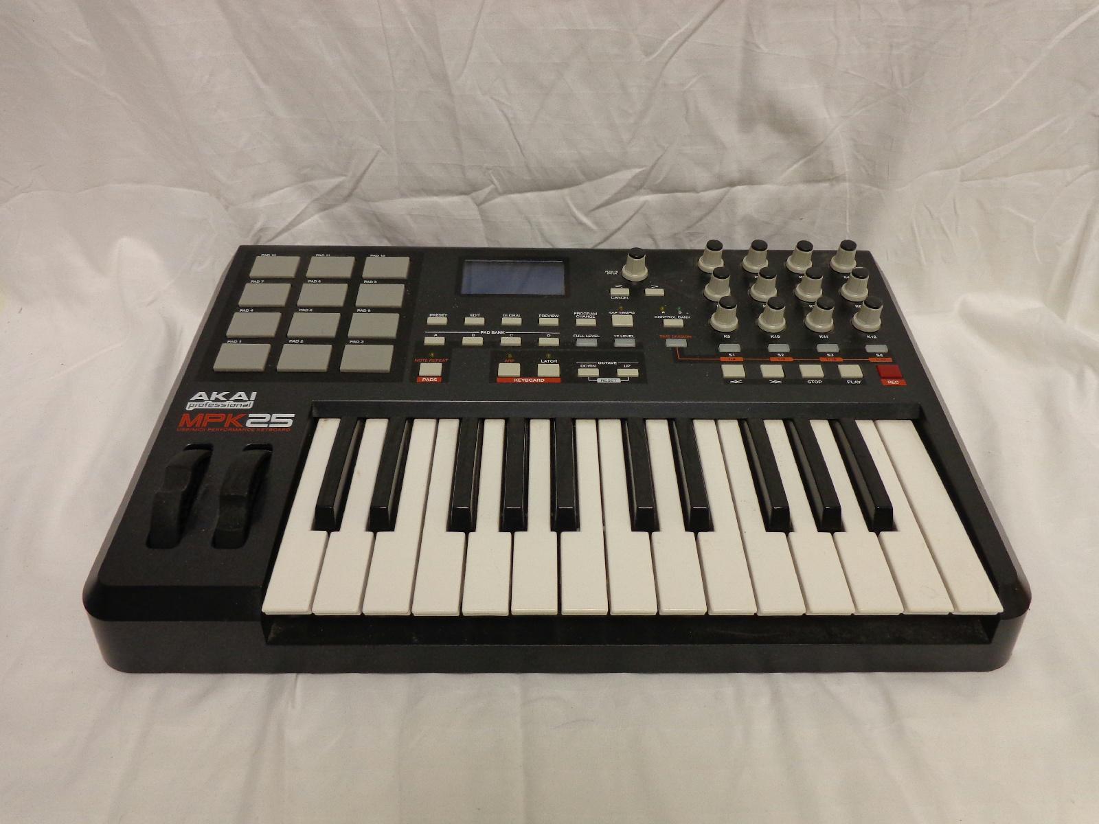 akai professional mpk25 25 key usb midi keyboard controller ebay. Black Bedroom Furniture Sets. Home Design Ideas