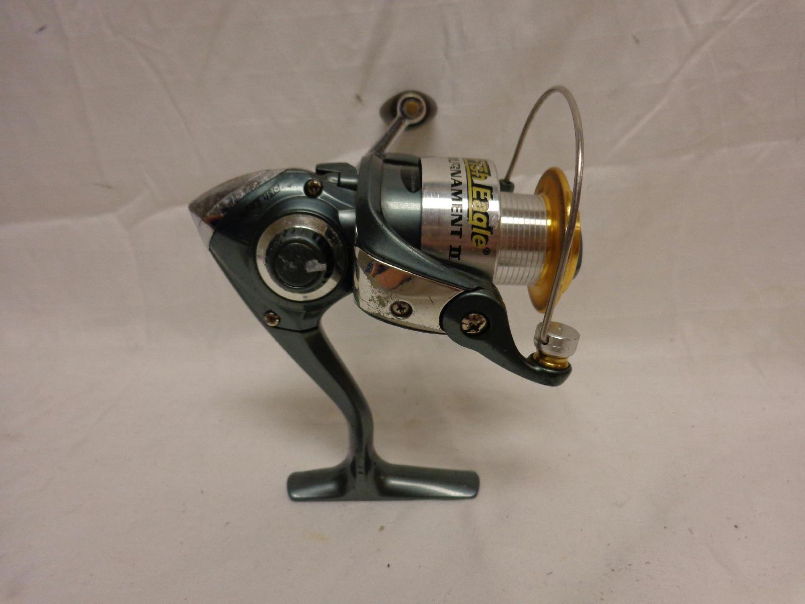 Cabela 39 s fish eagle tournament ii fishing spinning reel ebay for Cabela s fishing reels