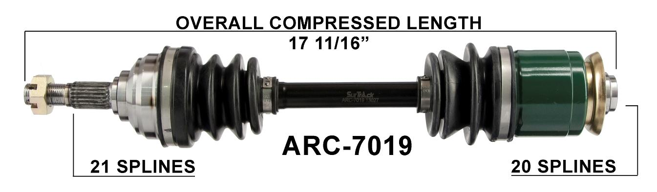 FRONT REAR LEFT RIGHT COMPLETE CV JOINT AXLES Fits ARCTIC CAT 300 4X4 1998-2001