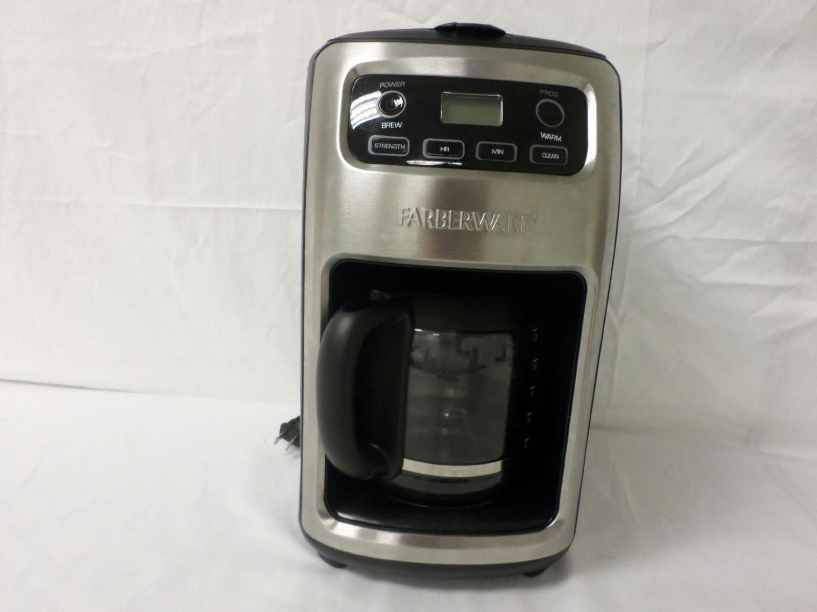 Farberware Coffee Maker Ratings : Farberware 12 Cup Coffee Maker 103744 Black eBay
