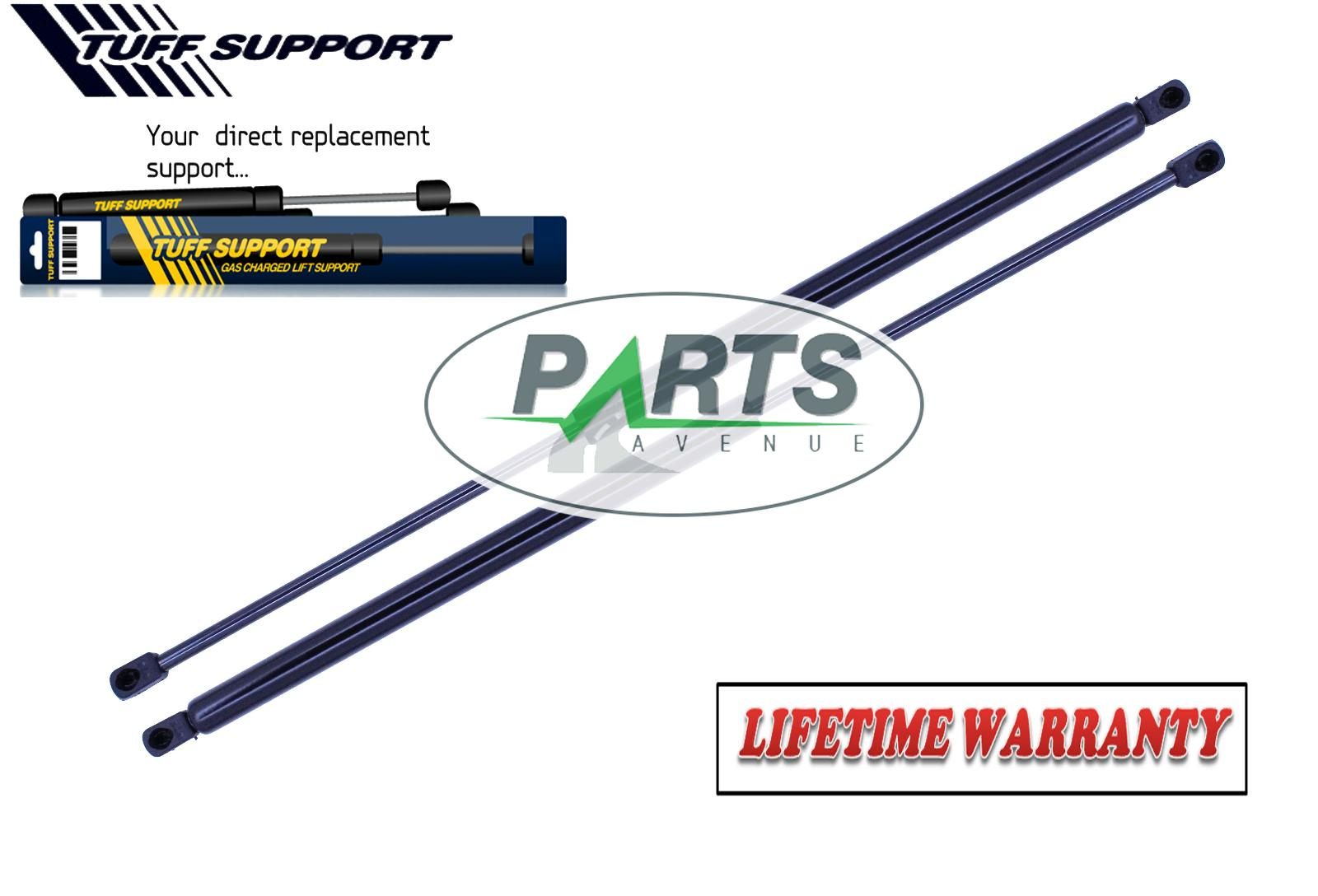 2 FRONT HOOD LIFT SUPPORTS SHOCKS STRUTS ARMS PROPS RODS RODS DAMPER CONVERTIBLE