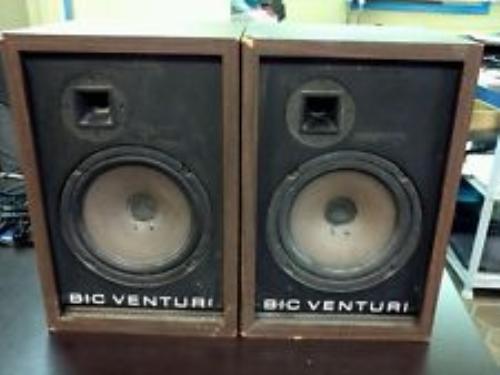 Vintage bic speakers and have