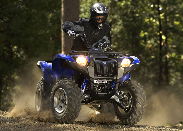 Blue flame shock covers yamaha grizzly 350 400 450 660 for Yamaha grizzly 400