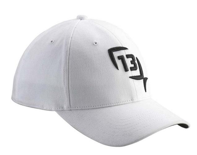 13 fishing albino s m l xl white hat ballcap with for 13 fishing hat