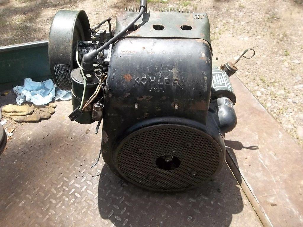 New Tractor Motors : Vintage kohler k s garden tractor engine new holland