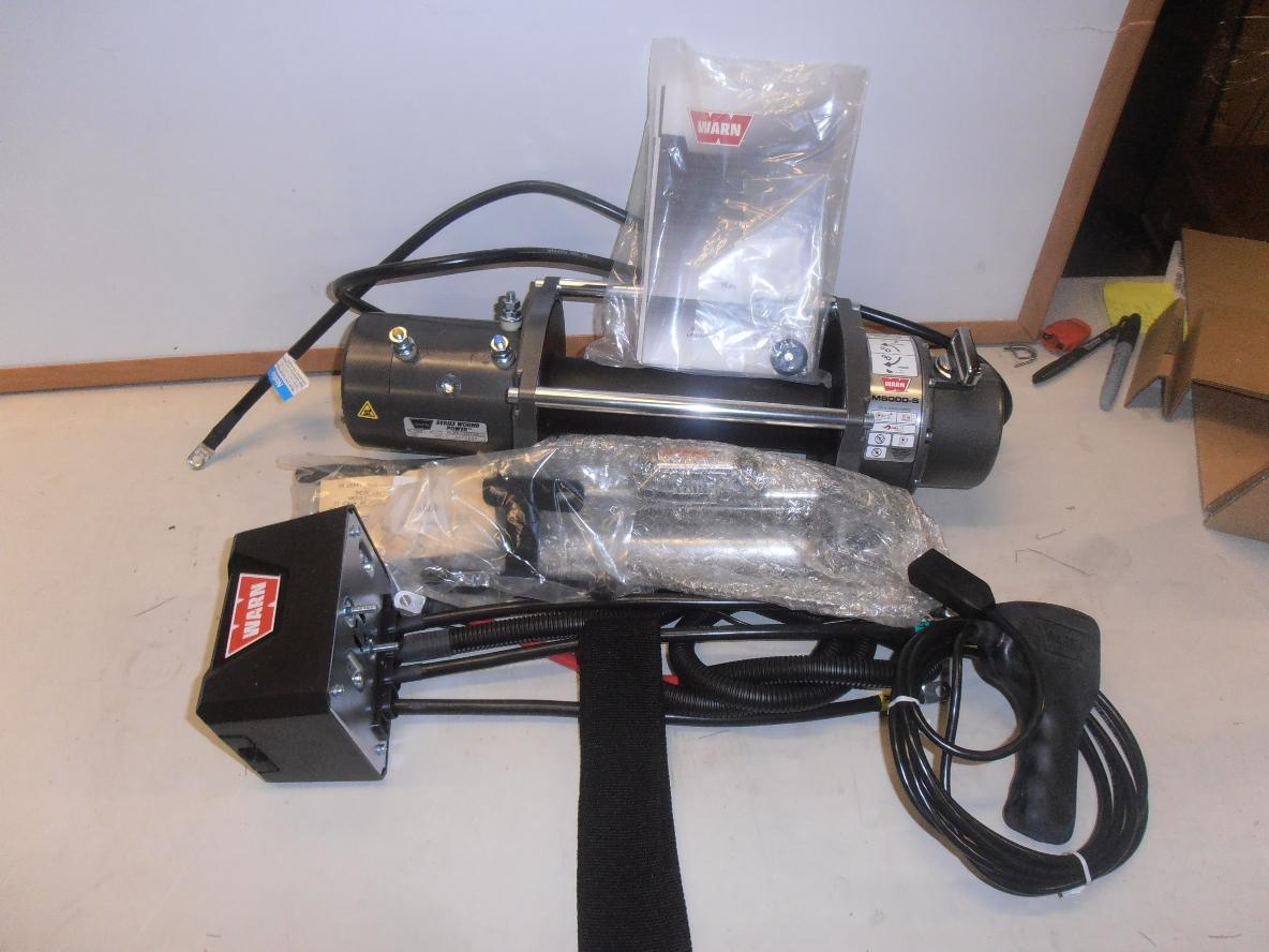 Warn M8000 Winch Pictures To Pin On Pinterest
