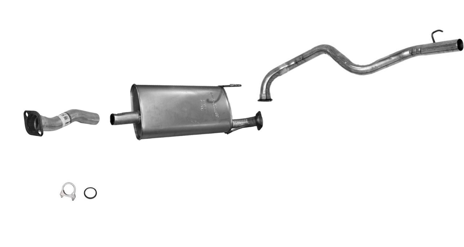 Exhaust Pipe Fits 2001-2002 Toyota 4Runner
