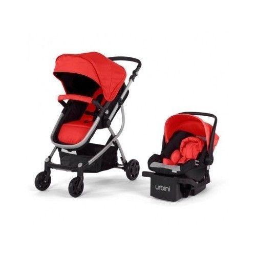 Urbini Omni Travel System Baby Stroller Car Seat Combo