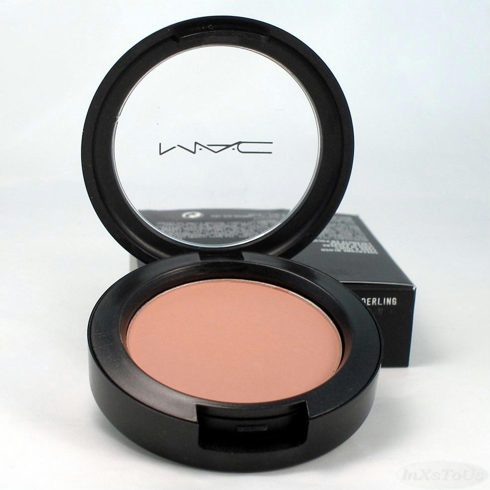 MAC Sheertone Powder Blush Tenderling (Nude Pink) Boxed