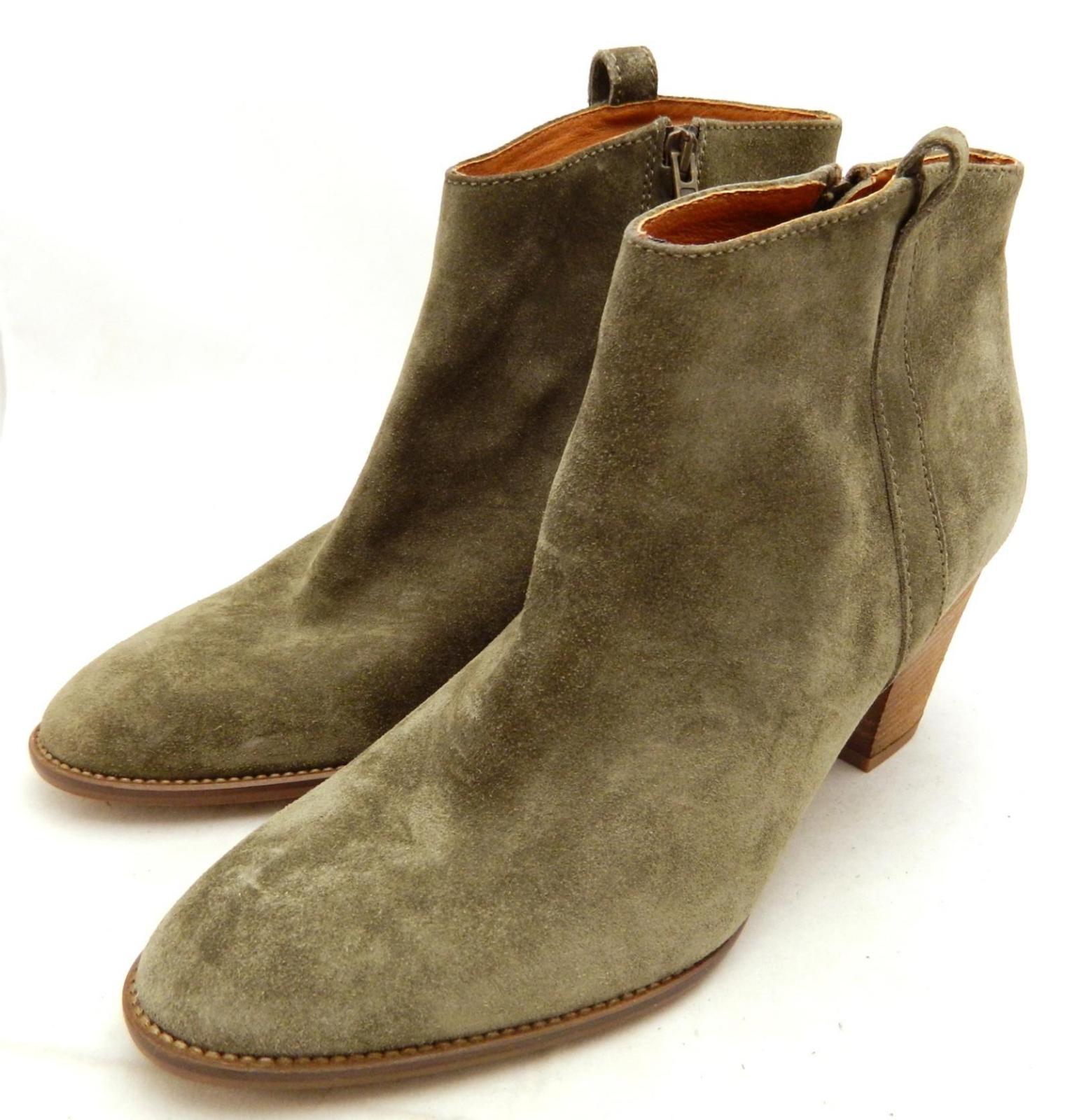 madewell 218 the billie boot 7 marsh brown boots