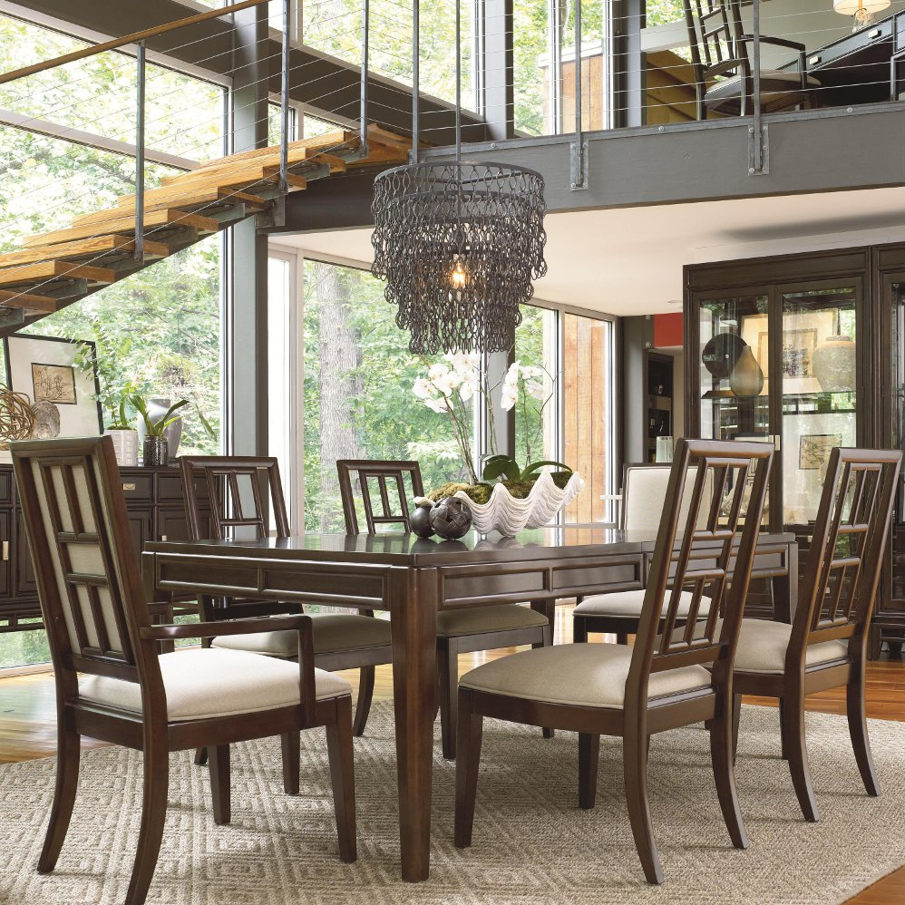 Thomasville Dining Room Chairs: Thomasville Furniture Lantau 7 Pc Dining Table & Chairs