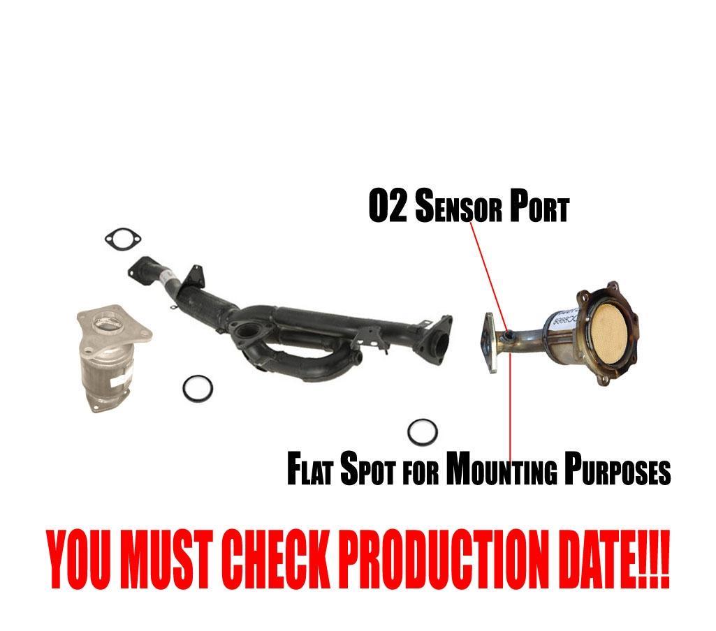 Direct Fit Catalytic Converter for 02-04 Infiniti I35 Nissan Maxima Davico 14023