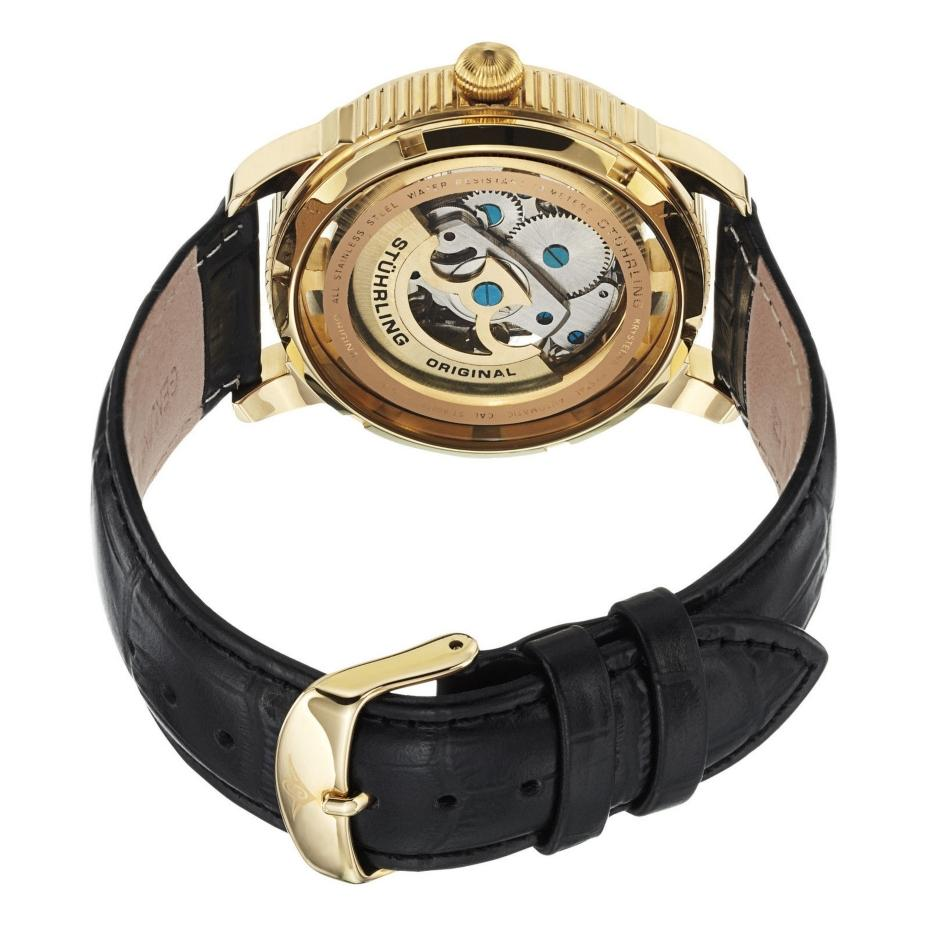 Stuhrling original 393 333531 classic winchester automatic skeleton mens watch ebay for Classic skeleton watch