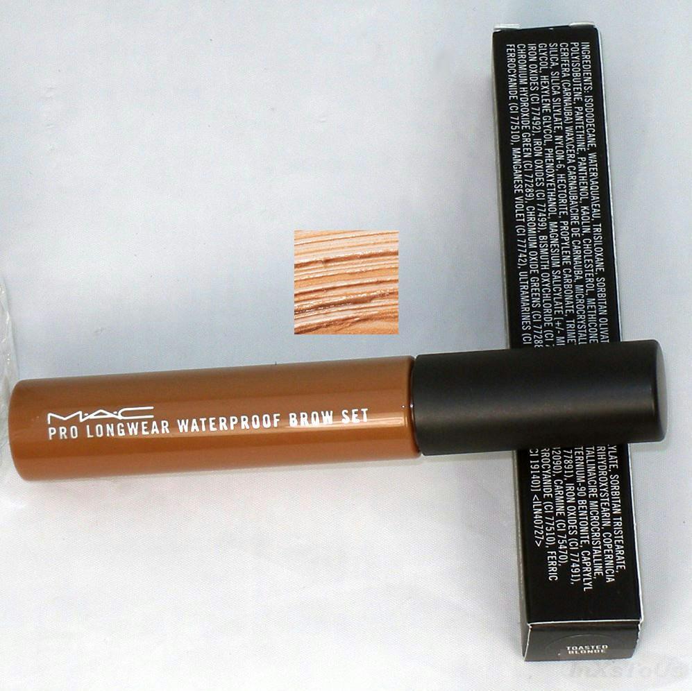 mac pro longwear waterproof brow set toasted blonde gel. Black Bedroom Furniture Sets. Home Design Ideas