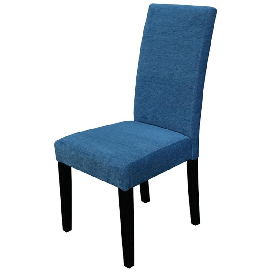 Overstock Parsons Chair Details about Monsoon Pacific Aprilia Upholstered Dining Chairs, Blue ...
