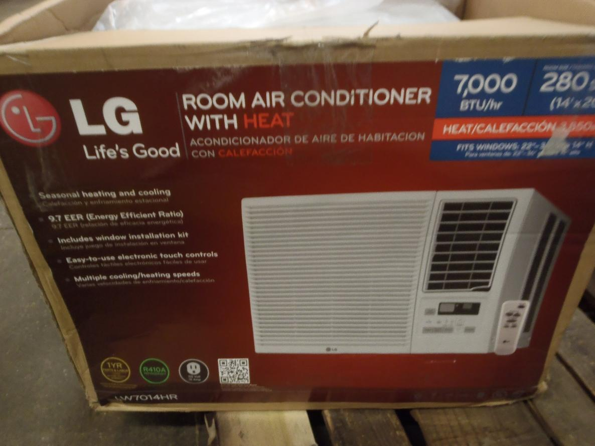 #A93A22 LG LW7014HR 7000 BTU 115V Window Mounted Room A/C 3850 BTU  Brand New 4971 Lg Room Heater images with 1186x890 px on helpvideos.info - Air Conditioners, Air Coolers and more