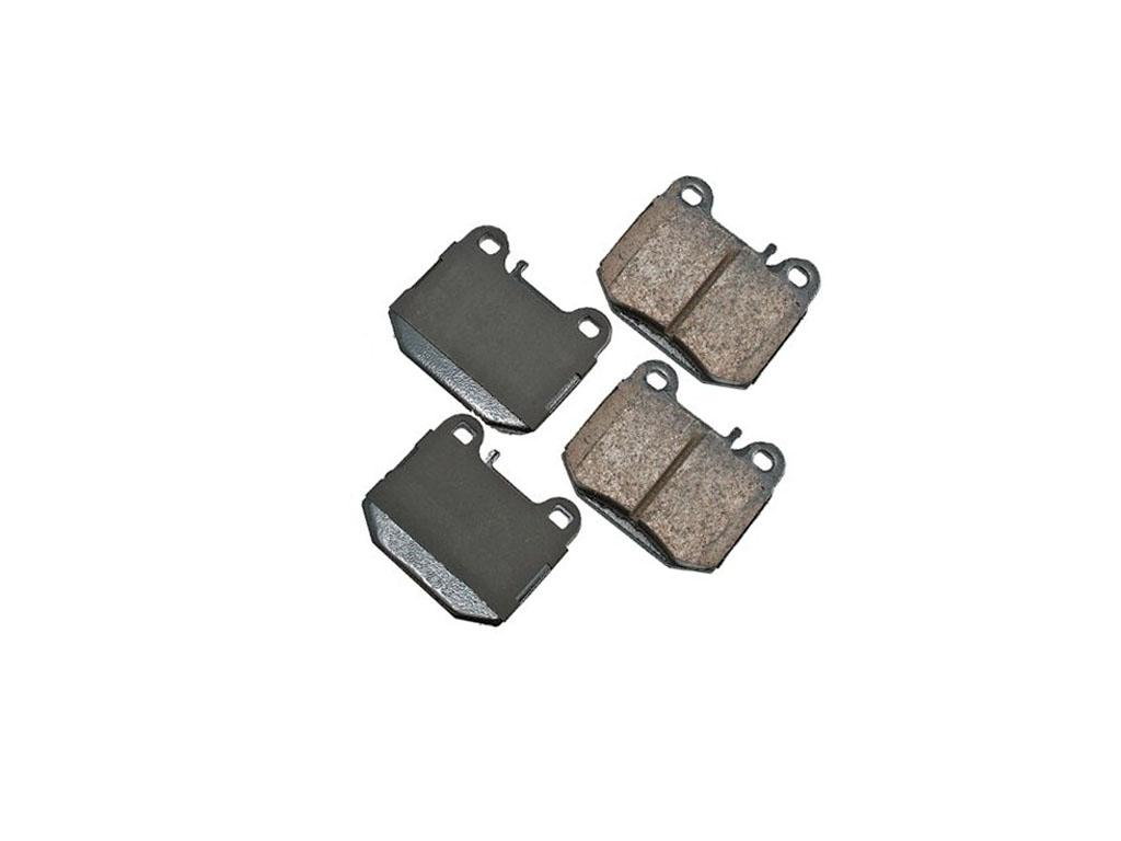 Mercedes benz ml430 ml500 ml55 amg set of rear semi for Brake pads mercedes benz