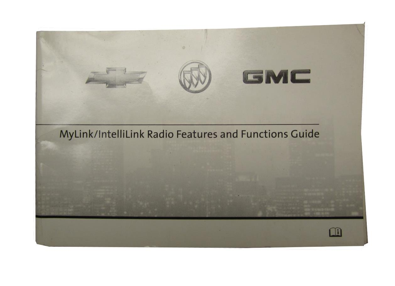 New Oe Gm 2013 Chevy Intellilink Mylink User Manual