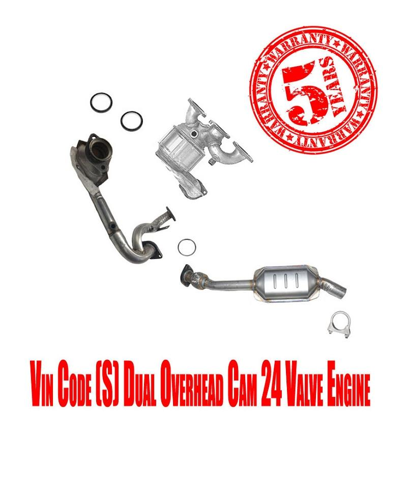 Front Catalytic Converters For Sable & Taurus 3.0L DOHC