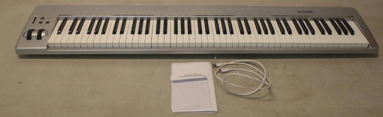 m audio keystation 88es 88 key usb midi keyboard controller semi weighted keys 724643115333 ebay. Black Bedroom Furniture Sets. Home Design Ideas