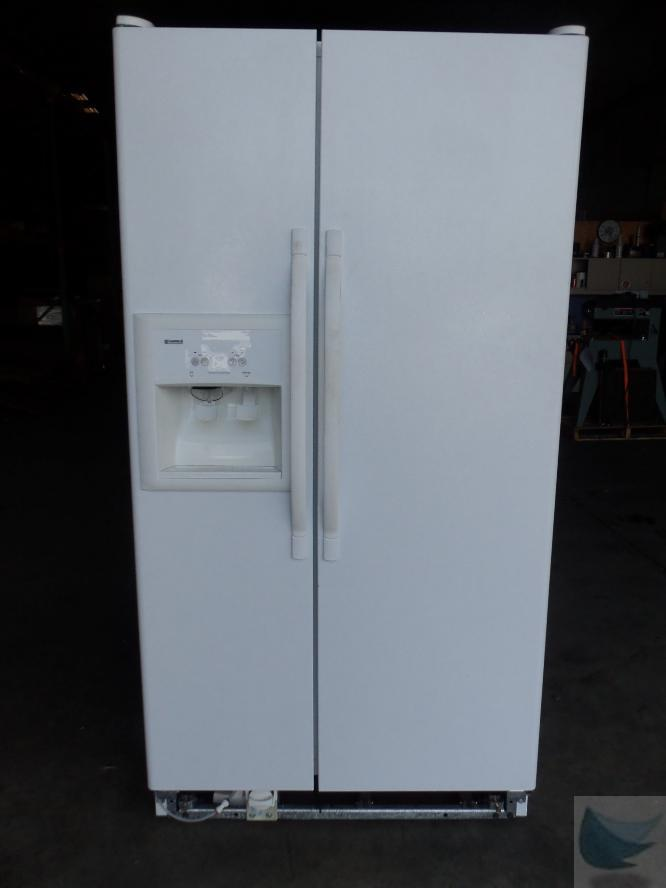 Kenmore Coldspot Side By Side White Refrigerator Freezer