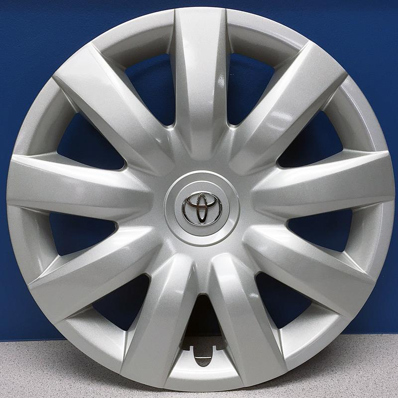 39 04 06 toyota camry 61136 15 9 spoke hubcaps wheel covers oe 42. Black Bedroom Furniture Sets. Home Design Ideas