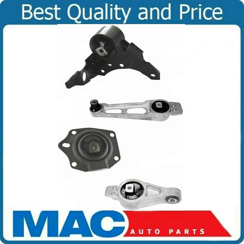 Engine Motor /& Transmission Mount Set for 2003-2005 Dodge Neon 2.0L A//T 4pc Kit