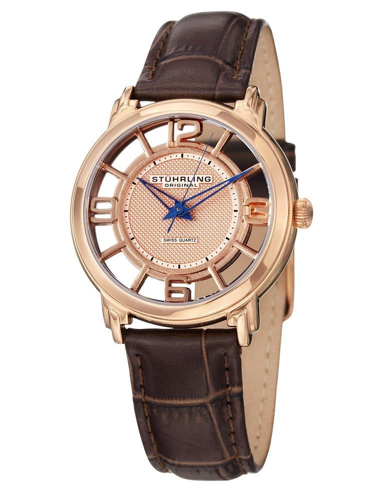 stuhrling original 360l 1245k14 winchester brown leather
