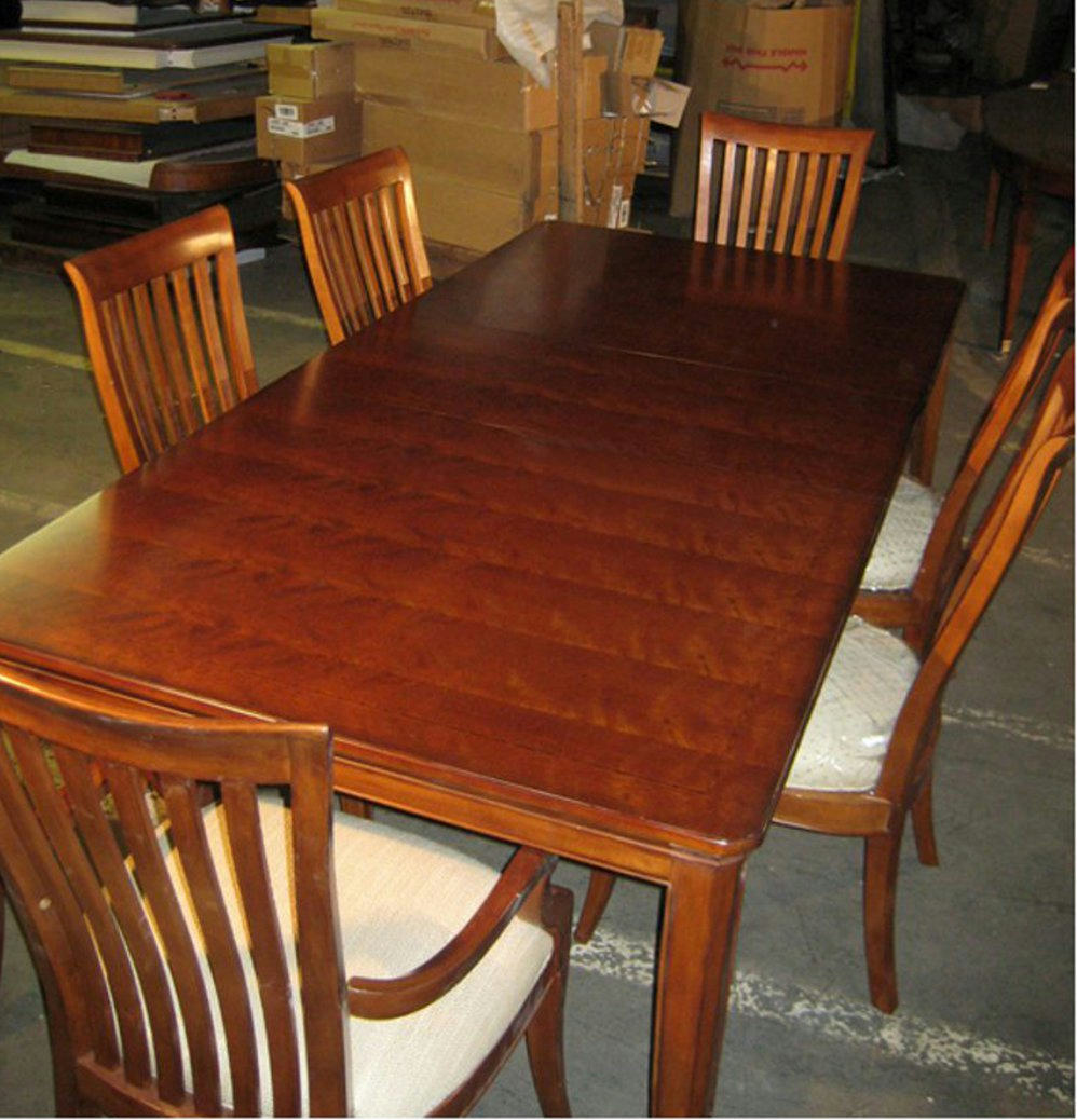 Thomasville Furniture Cinnamon Hill Dining Table Chairs Set 0 Ship East