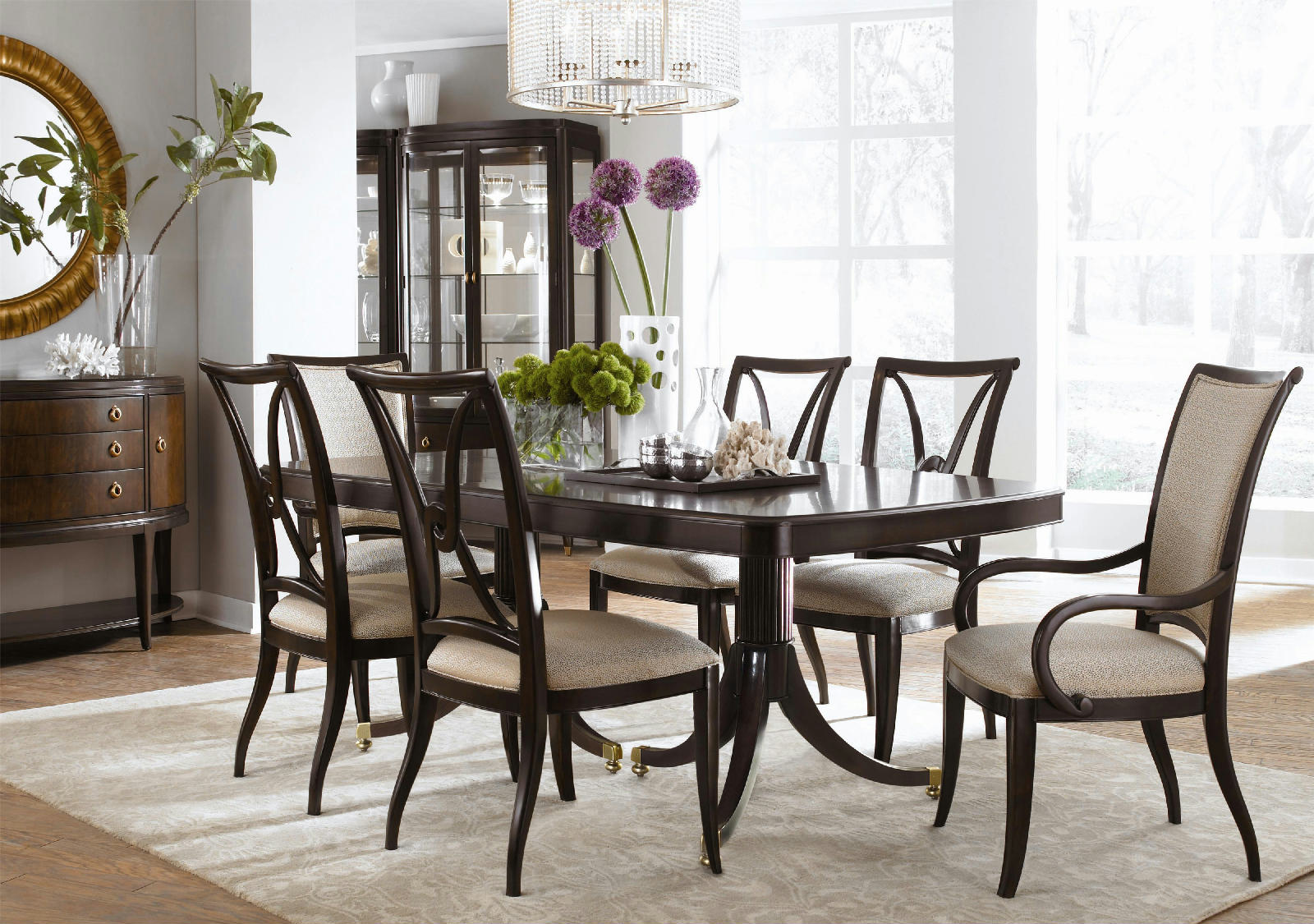 Thomasville Dining Room Sets Thomasville Furniture Set Of 6 Studio 455 Dining Chairs Choose