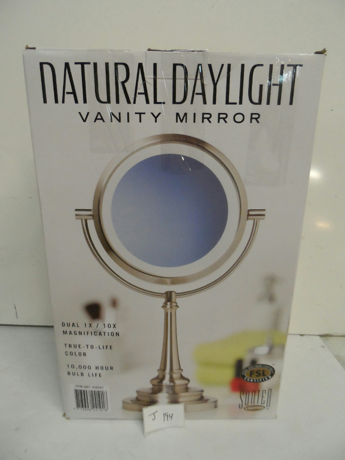 Sunter Natural Daylight Vanity Makeup Mirror Retails 49 99 eBay